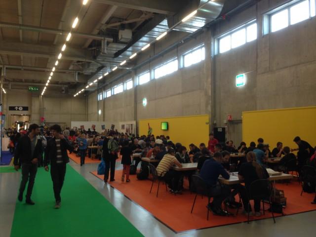 Swiss Toy : De nombreuses places de jeu étaient à la disposition des visiteurs