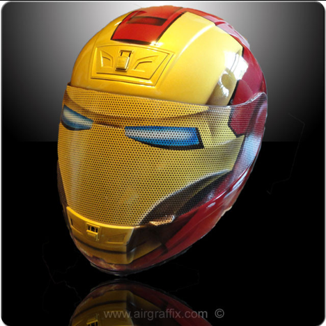 Casques Iron man