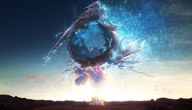 Cocoon à nouveau mais sous la forme cristallisé à la suite du combat final du premier opus