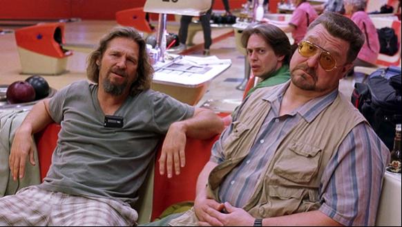 Les trois personnages principaux durant l'une de leurs parties de bowling