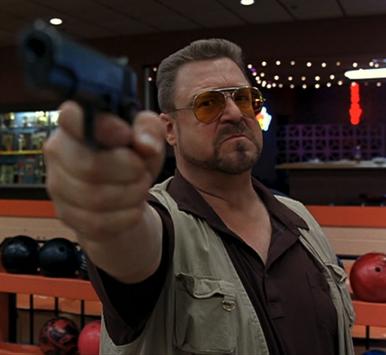 John Goodman dans le rôle de Walter Sobchak