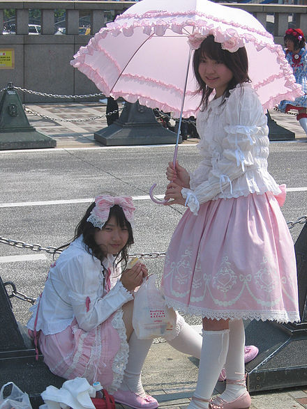 Exemple de style Sweet Lolita