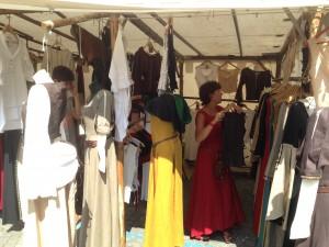 Les robes et tuniques médiévales proposées