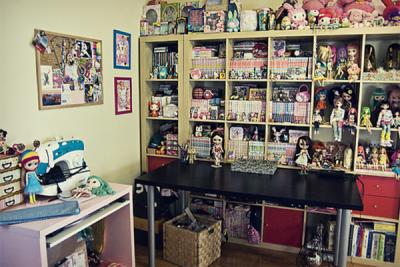Et un exemple de chambre d'Otaku dans le monde réel