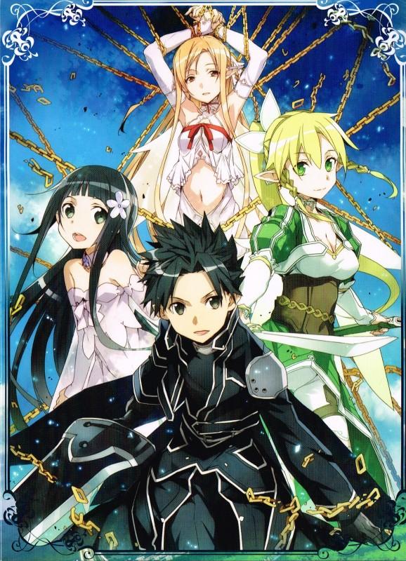 Les principaux protagonistes de l'arc Fairy Dance