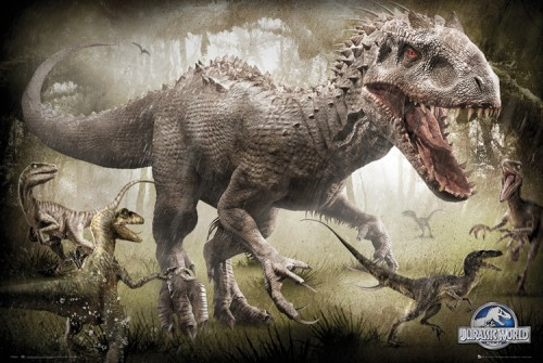 Le fameux Indominus Rex, la pierre angulaire du film