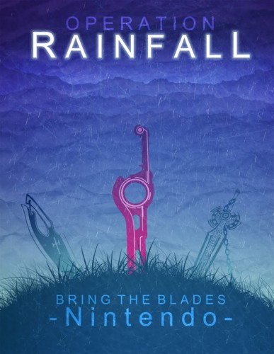 Poster de l'opération Rainfall