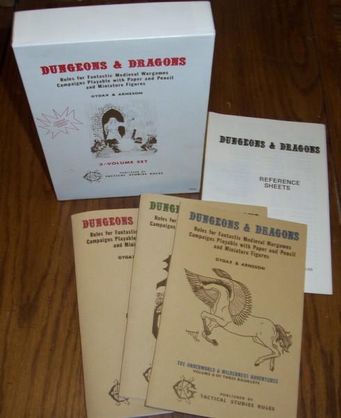 Première édition de Donjons et Dragons / Dungeons and Dragons original - OD&D