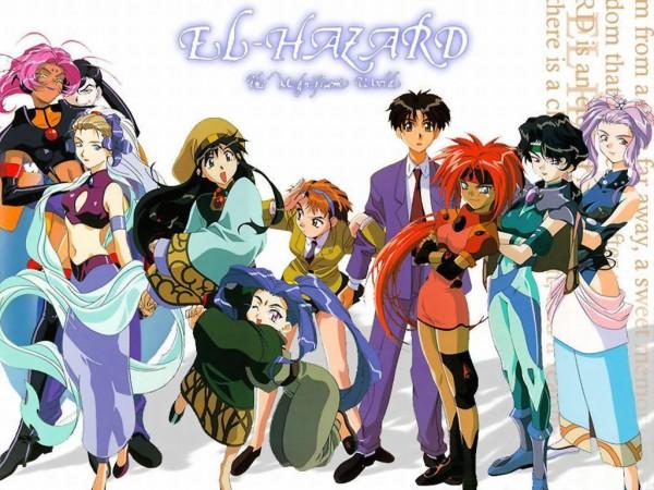Les principaux personnages de la première série