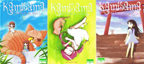 Les couvertures des trois tomes