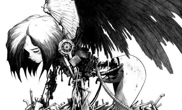 L'ange rouillé, certainement l'une des illustrations les plus connues de la série