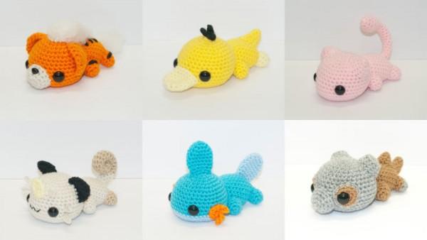 Crochets pokémons