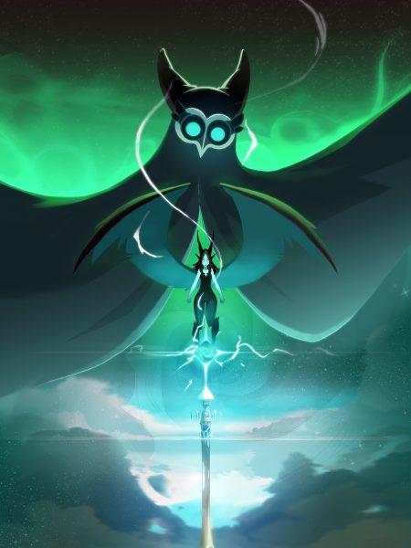 Le sommet de la tour Oropo avec le nouvel ennemis du même nom et dame Echo, l'un des demi-dieux
