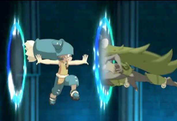 La magie de Yugo qui lui permet d'ouvrir des portails dimensionnels