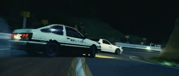 Initial D course