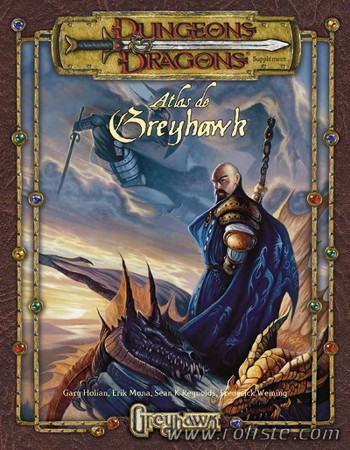 L'Atlas de Greyhawk Source de l'image : www.roliste.com