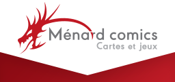 Ménard comic logo
