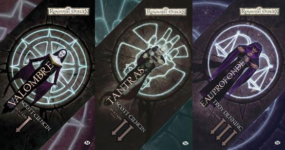 La trilogie aux éditions Milady