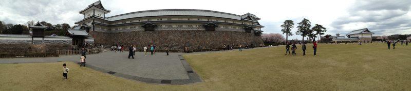 Le château de Kanasawa