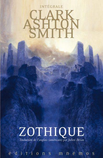 Couverture de l'édition intégrale de Zothique