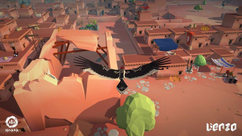 Mulaka peut se changer en oiseau pour voler.