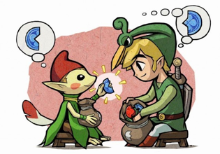 Minish cap fragments