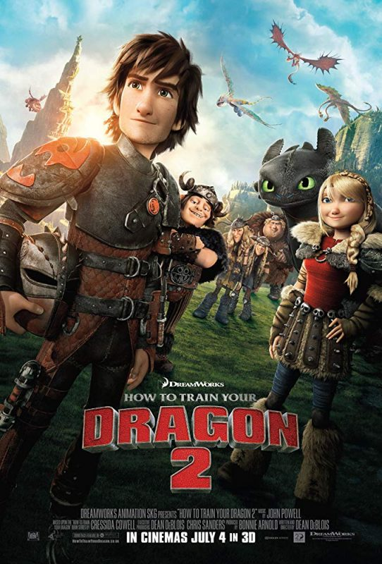 L'affiche du film Dragons 2