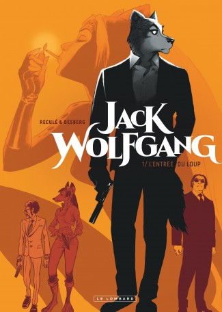Couverture du tome 1 de Jack Wolfgang