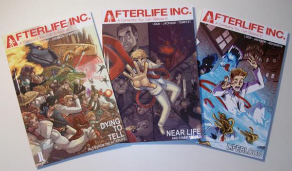 Afterlife Inc. Livres 1 à 3