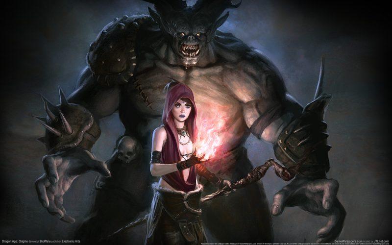 Même dans Dragon Age, les mage ont le don d'attirer les ennemis