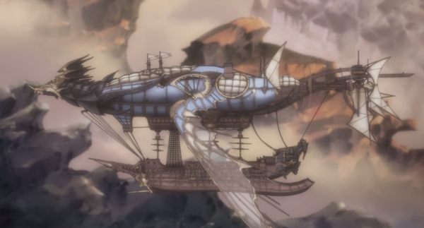 GranBlue Fantasy The Animation - Vaisseau
