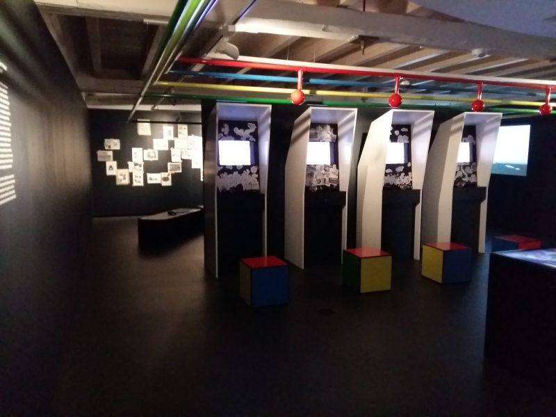 Les bornes d'arcades et les autres demos - L'Expo dont vous êtes le héros