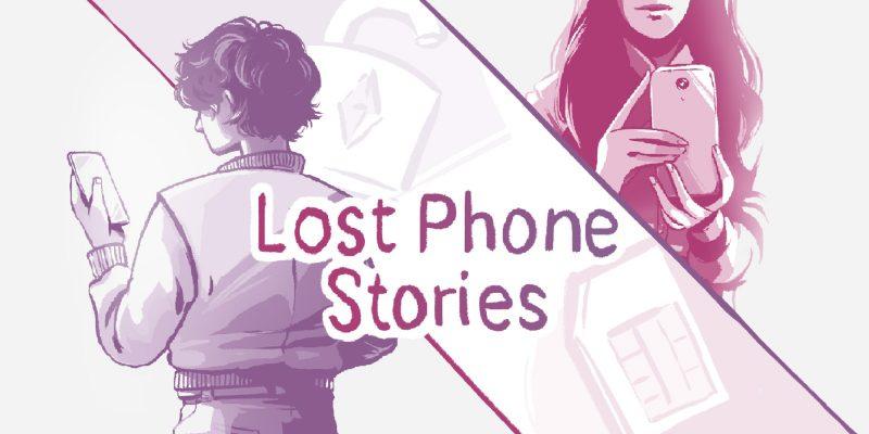 Logo de la série Lost phone stories