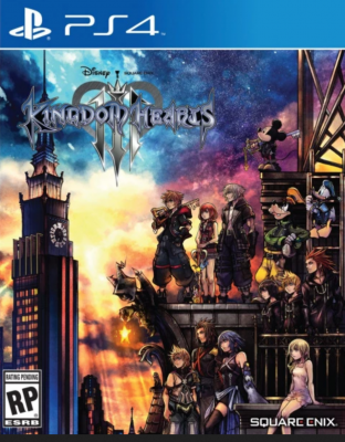 Kingdom Hearts 3 - Jaquette jeu