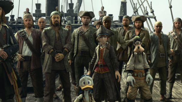 Kingdom Hearts 3 - Pirates