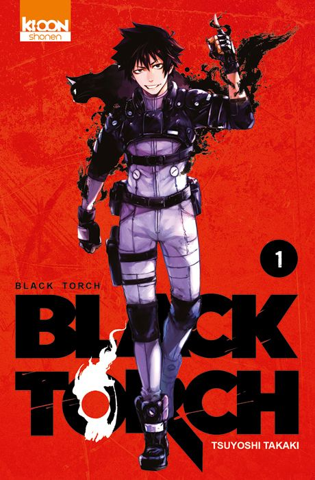 Couverture du tome 1 de Black Torch