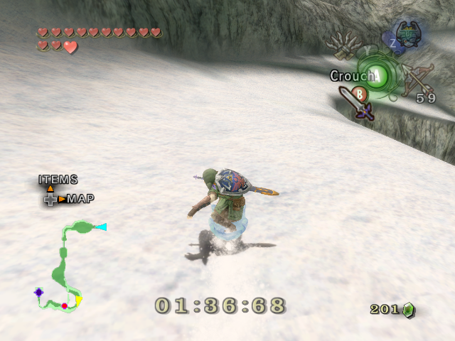 Twilight princess - Snowboard